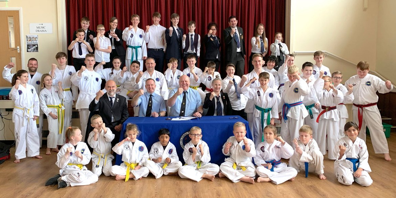 Taekwondo belt grading