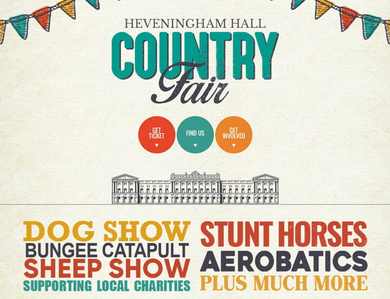 Heveningham Hall Country Fair & Concours