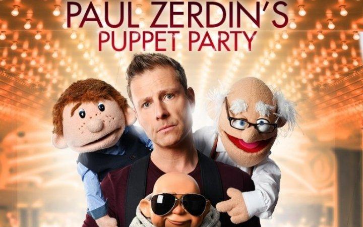Paul Zerdin's Puppet Party