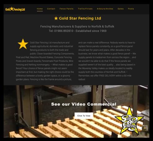 Gold Star Fencing Bungay