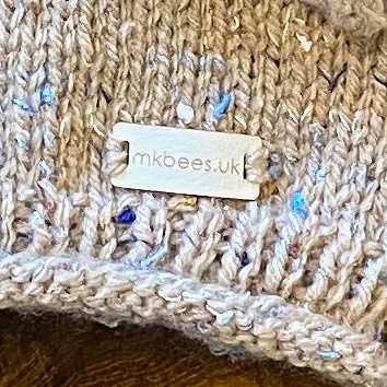 Dormouse Cuddles Handmade Knitted Baby Jumper from Mopsie's Knitterbees