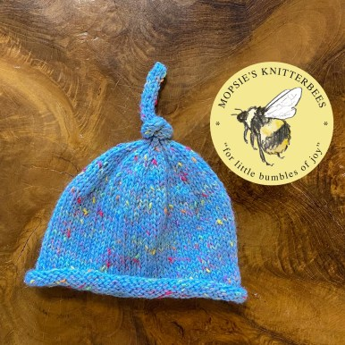 Thistledown Seeds Handmade Knitted Baby Hat from Mopsie's Knitterbees