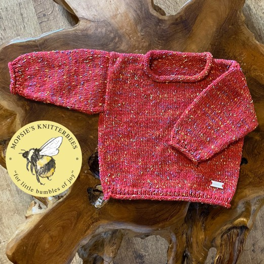 Woodland Spells Handmade Knitted Baby Jumper from Mopsie's Knitterbees