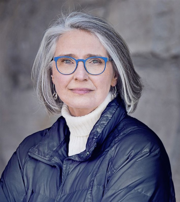 Murder mystery author Louise Penny