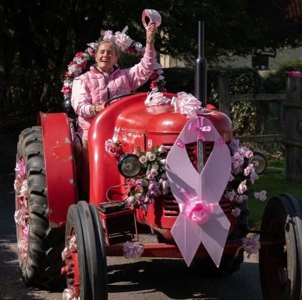 Pink Ladies' Tractor Run