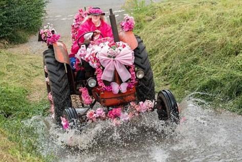 decorated tractors