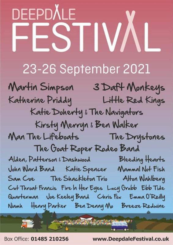 Deepdale Festival 2021
