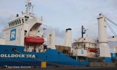 Fjordvik onboard Rolldock Sea