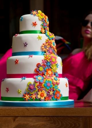 Gay Birthday Cake Flower Sex Toy