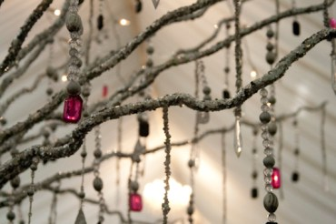 17. Jewel Droplets for Winter Sparkle