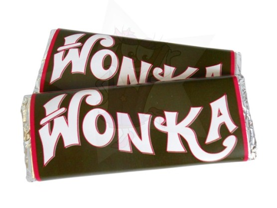 WrapperStar.co.uk Wonka Bar Favour from £2.00