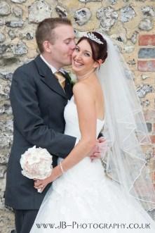 Silk Bouquet with Bride