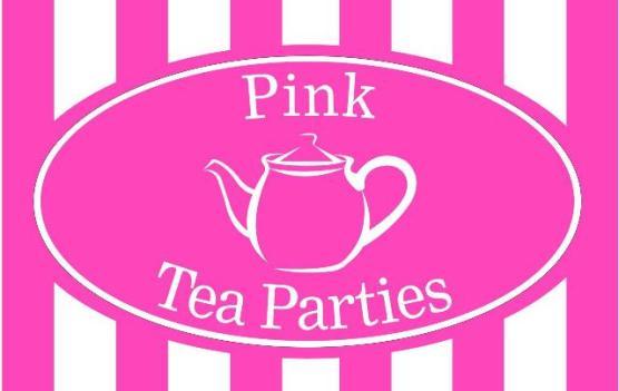 Pink Tea Parties Logo
