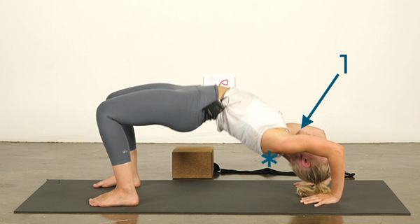 Yoga Poses for Athletes Wheel Pose - Step 3