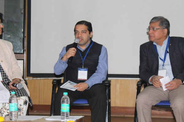 Ashish Makhani and Mukkul Bagga, Panel discussion on Trends & opportunities of IoMT at IC InnovatorCLUB Meeting at IIT Delhi