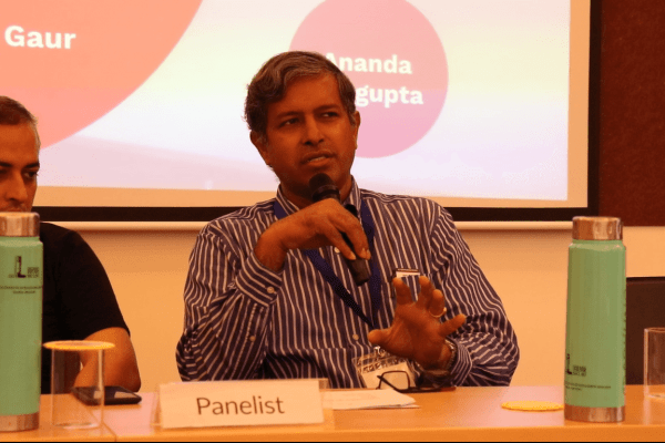 Ananda Sen Gupta in Panel discussion at IC InnovatorClub Meeting