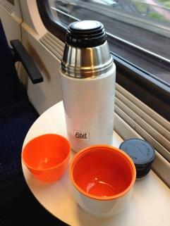 Esbit Edelstahl Isolierflasche Polar 750 ml 1