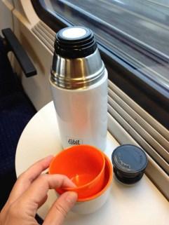 Esbit Edelstahl Isolierflasche Polar 750 ml 2