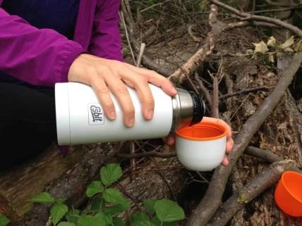 Esbit Edelstahl Isolierflasche Polar 750 ml 3
