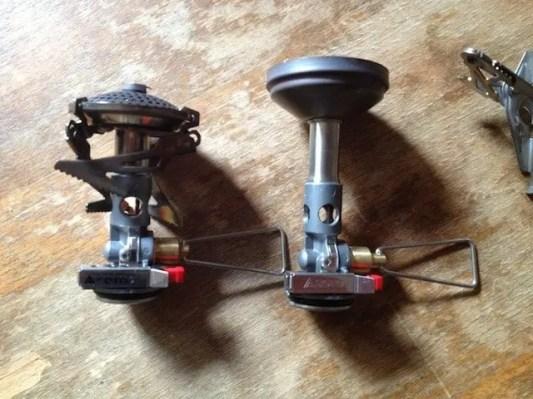 Vergleich Micro Regulator Stove vs. WindMaster