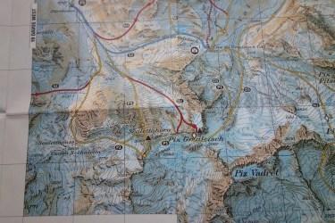 Helvetic Backcountry Ski Snowboard Tourenatlas Schweiz 13