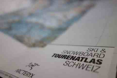 Helvetic Backcountry Ski Snowboard Tourenatlas Schweiz 15