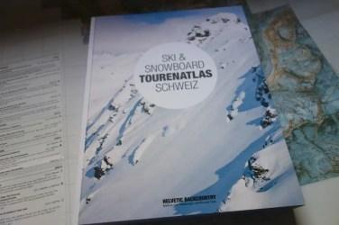 Helvetic Backcountry Ski Snowboard Tourenatlas Schweiz 16