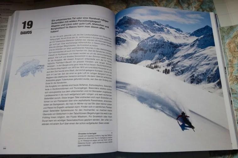 Helvetic Backcountry Ski Snowboard Tourenatlas Schweiz 19
