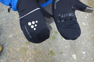 craft hybrid weather gloves 17