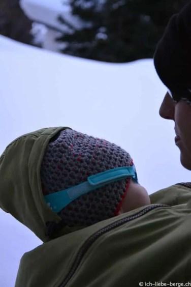 Mamalila Winterjacke Baby kapuze