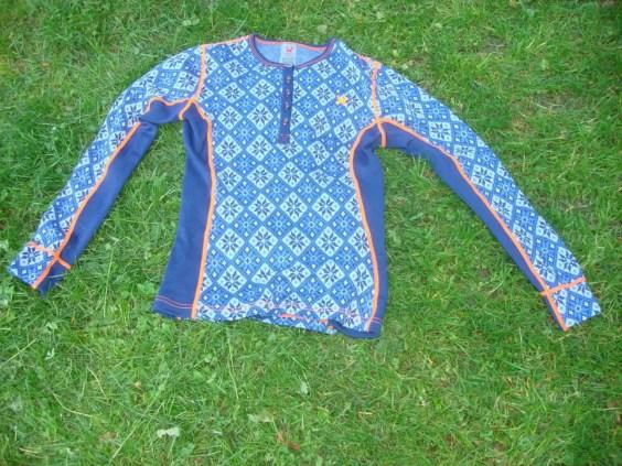 Merinounterwäsche Kari Traa Rose blau Pant und Roundneck11