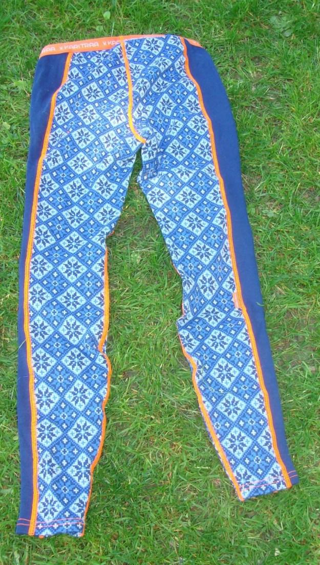 Merinounterwäsche Kari Traa Rose blau Pant und Roundneck2