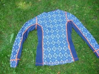 Merinounterwäsche Kari Traa Rose blau Pant und Roundneck8
