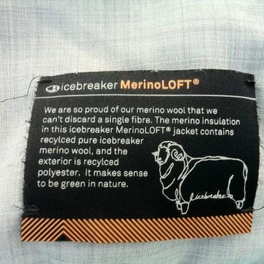 Icebreaker MerinoLOFT Helix Zip17