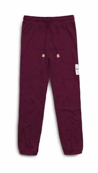 M1103-Men's Lazy Pants heather grey-HiRes2 - dark red