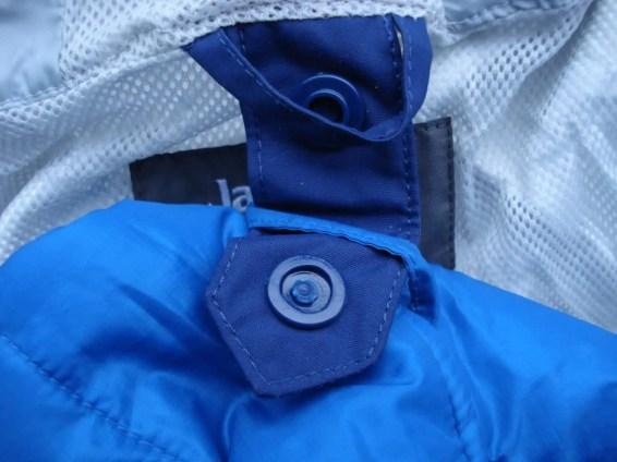 Verbindung der beiden Jacken nicht wirklich praktisch