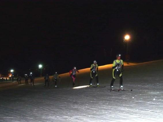 Vertical Race am Abend mit einige Dynamit Event Teilnehmer