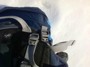 Höhenerstellung der Deckeltasche