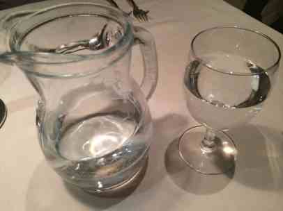 Quelle im Glas