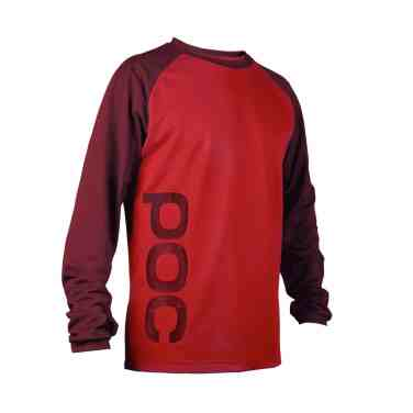 POC Flow Jersey Solder Red-Pewter Red18