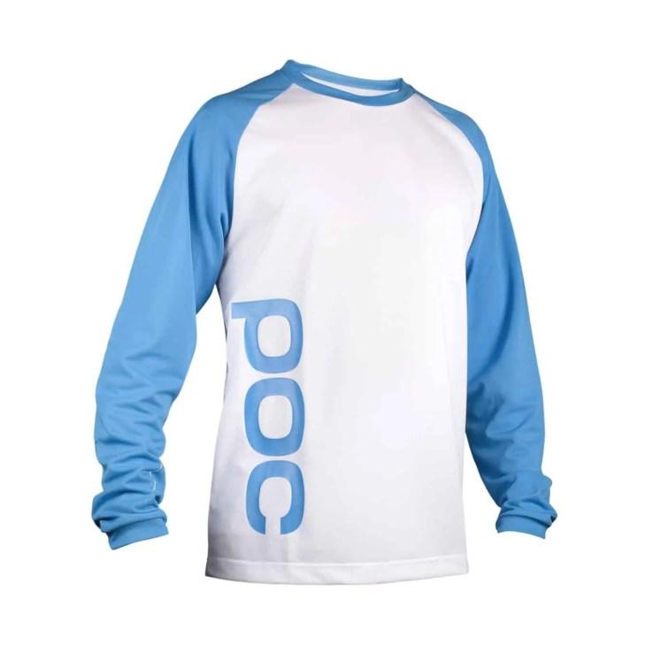 POC Flow Jersey Tungsten Blue-Hydrogen White20