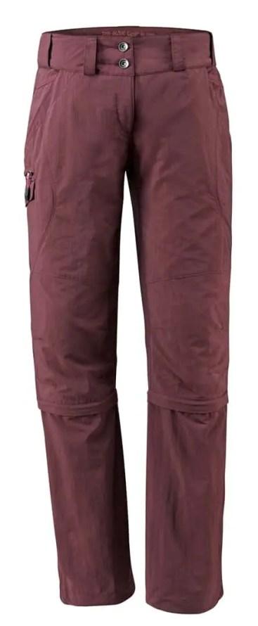 VAUDE_Womens Skomer Capri ZO Pants_claret red_05405_237