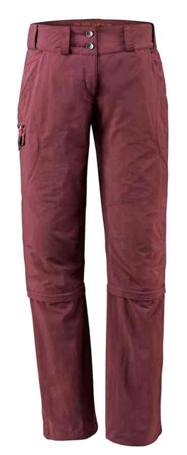 VAUDE_Womens Skomer Capri ZO Pants_claret red_05405_237