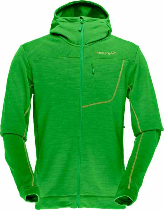 Norrona_bitihorn_Powestretch_ZipHood_M_GreenMamba
