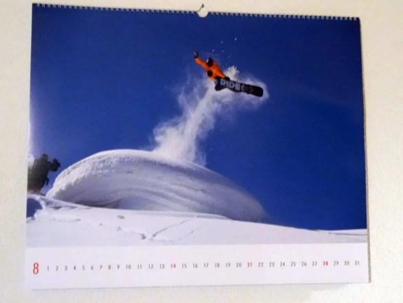 Kalender Snow 2016 09