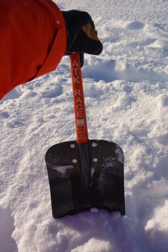 ATK Race Carbon Shovel 18