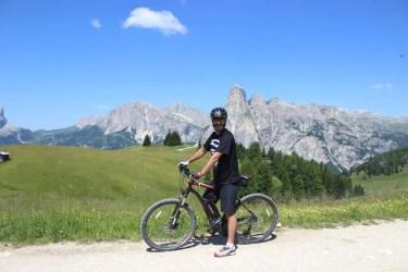 E-Mountainbiken macht Freude