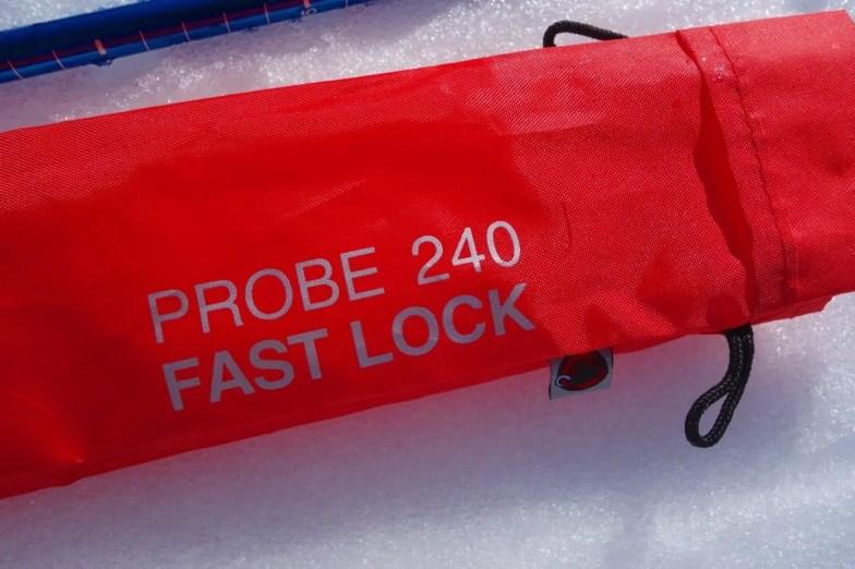 Mammut Probe 240 Fast Lock 11