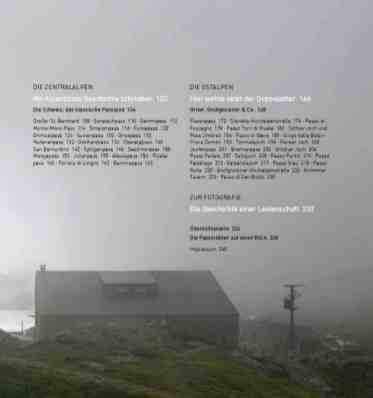 Passbilder - Landschaften der Alpenpässe 4