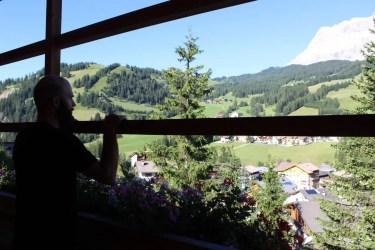 Wiesen, Wälder und die Dolomiten